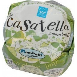 Casatella with salt - 350g