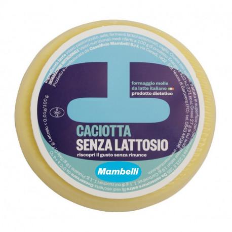 CACIOTTA SENZA LATTOSIO