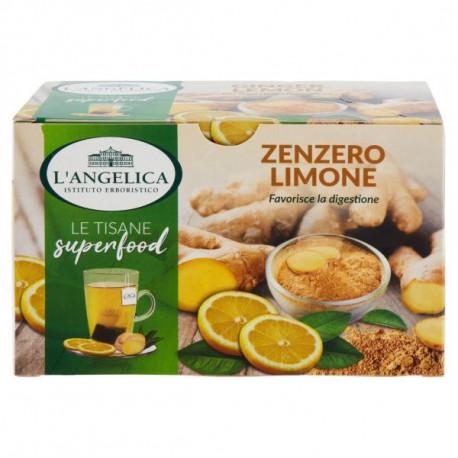 Tisana zenzero e limone - Angelica