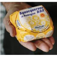Lo Squacquerone di Romagna D.O.P. al Sale Marino Integrale