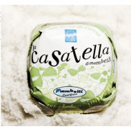Casatella with salt from Cervia